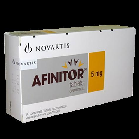 Everolimus-Afinitor - противоопухолевый препарат