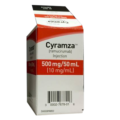 Противоопухолевое средство Cyramza (ramucirumab)