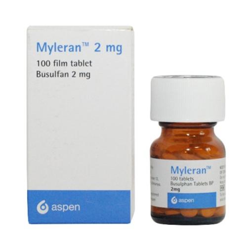 Busulphan Myleran - противоопухолевый препарат