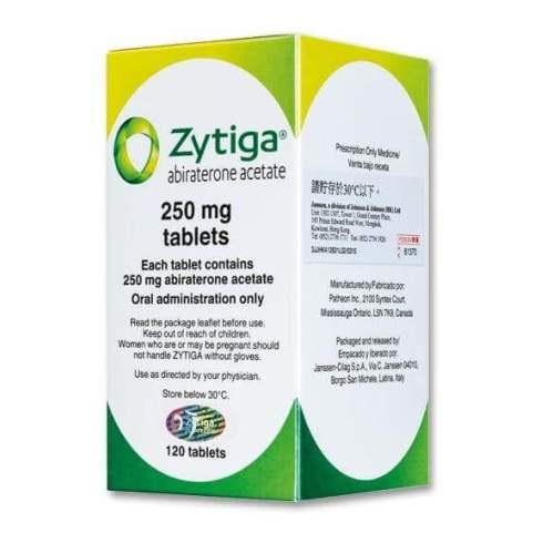 Абиратерон (Зитига) - препарат для лечения рака простаты
